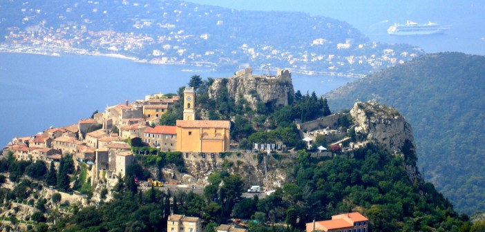 Travel to France - Eze by Jimi Magic (Public Domain)