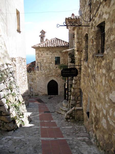 Eze street by Tangopaso (Public Domain)