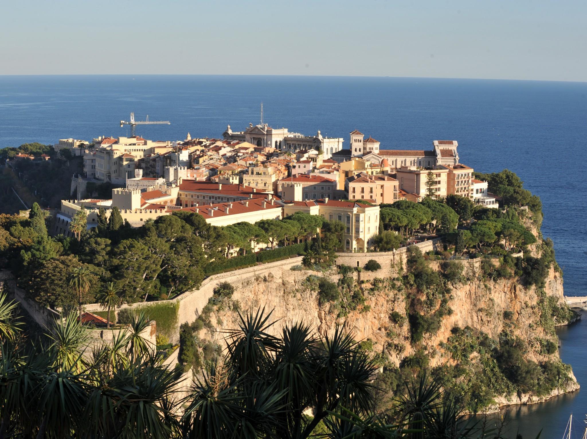 Rocher De Monaco Rock Of Monaco French Moments