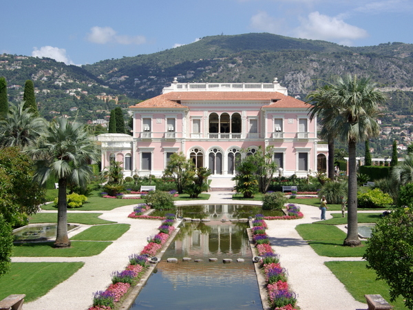 Villa Ephrussi de Rothschild © Berthold Werner - licence [CC BY-SA 3.0] from Wikimedia Commons