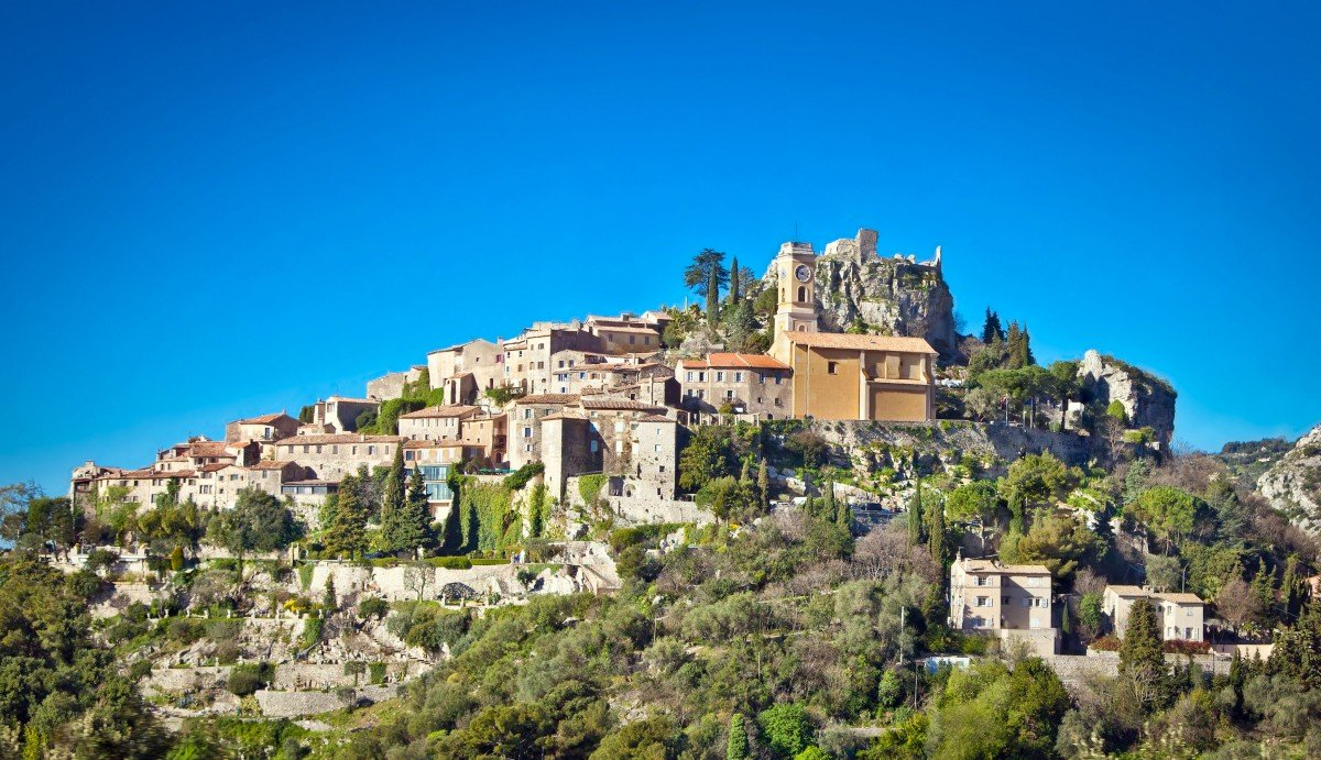 The perched village of Eze - Stock Photos from LongJon - Shutterstock