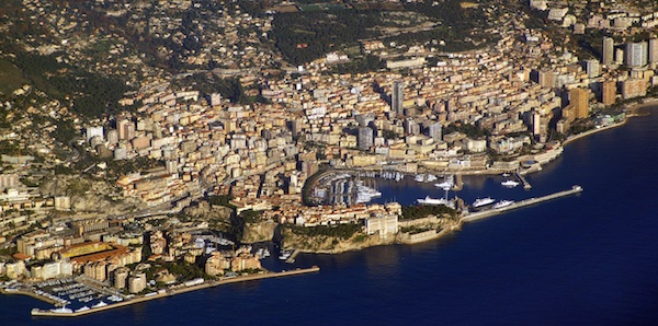 Monaco Aerial View © licence [CC BY-SA 3.0] from Wikimedia Commons