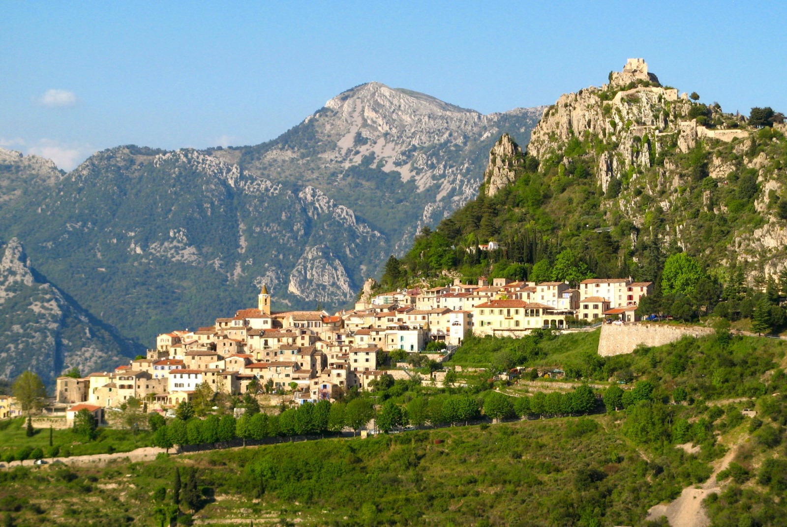 General view of Sainte-Agnès © Patrick Rouzet - licence [CC BY-SA 3.0] from Wikimedia Commons