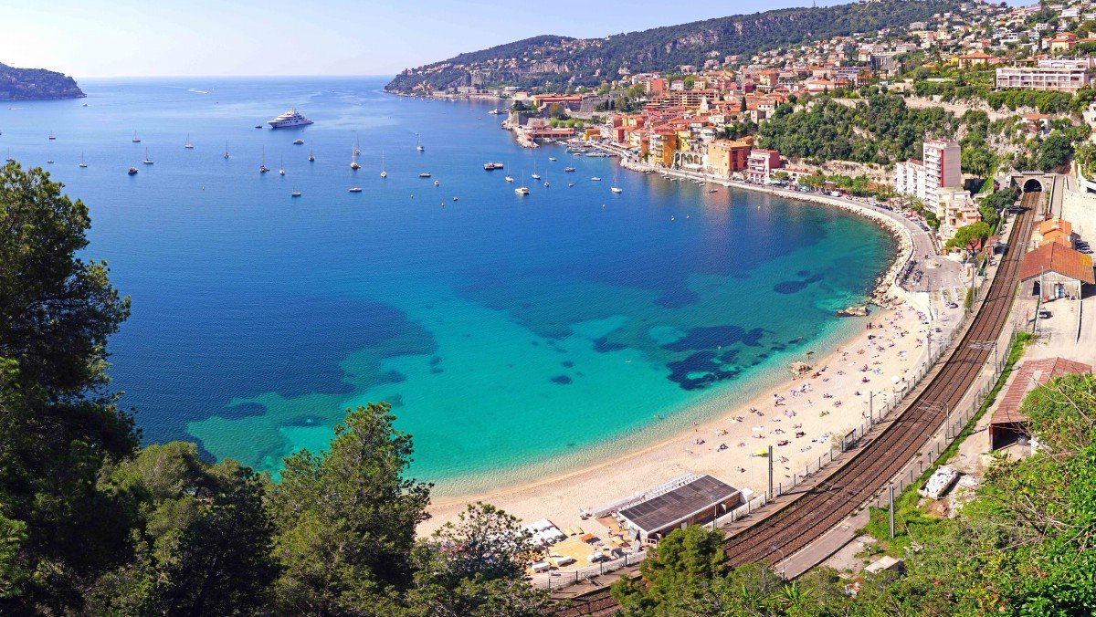 The seafront of Villefranche - Stock Photos from EQRoy - Shutterstock