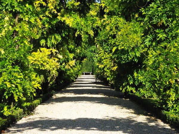 Pergola in Jardin des Présentateurs, Parc de Bagatelle © French Moments