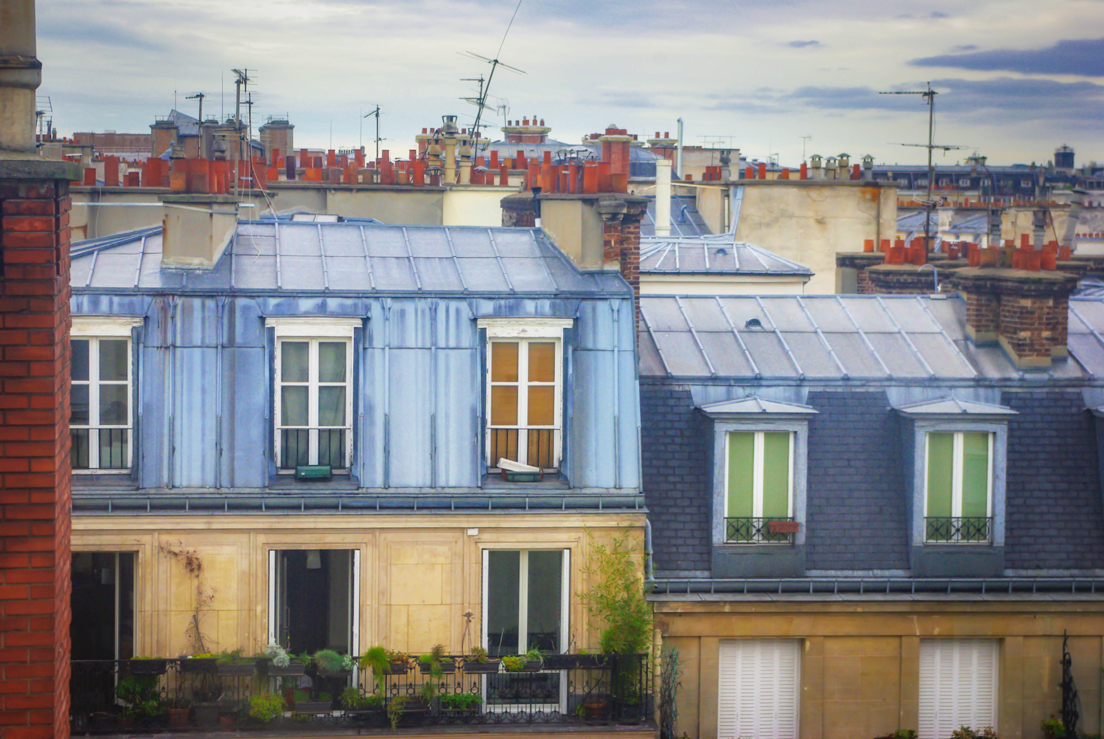 Rooftops, Second Arrondissement of Paris © French Moments