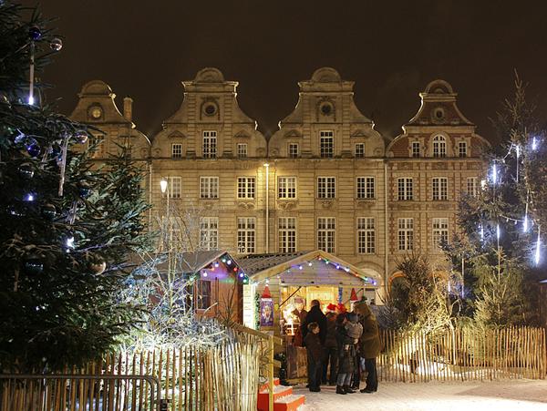 Arras Christmas Market © Guillaume R