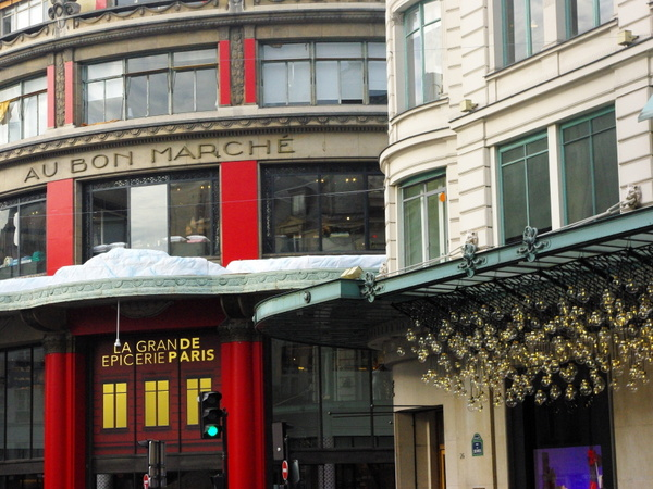 Christmas at Le Bon Marché © French Moments