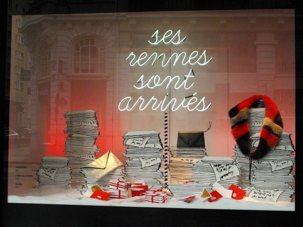 Christmas Windows of Le Bon Marché © French Moments