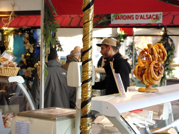 Alsatian Christmas Market in Gare de l'Est Paris 06 © French Moments