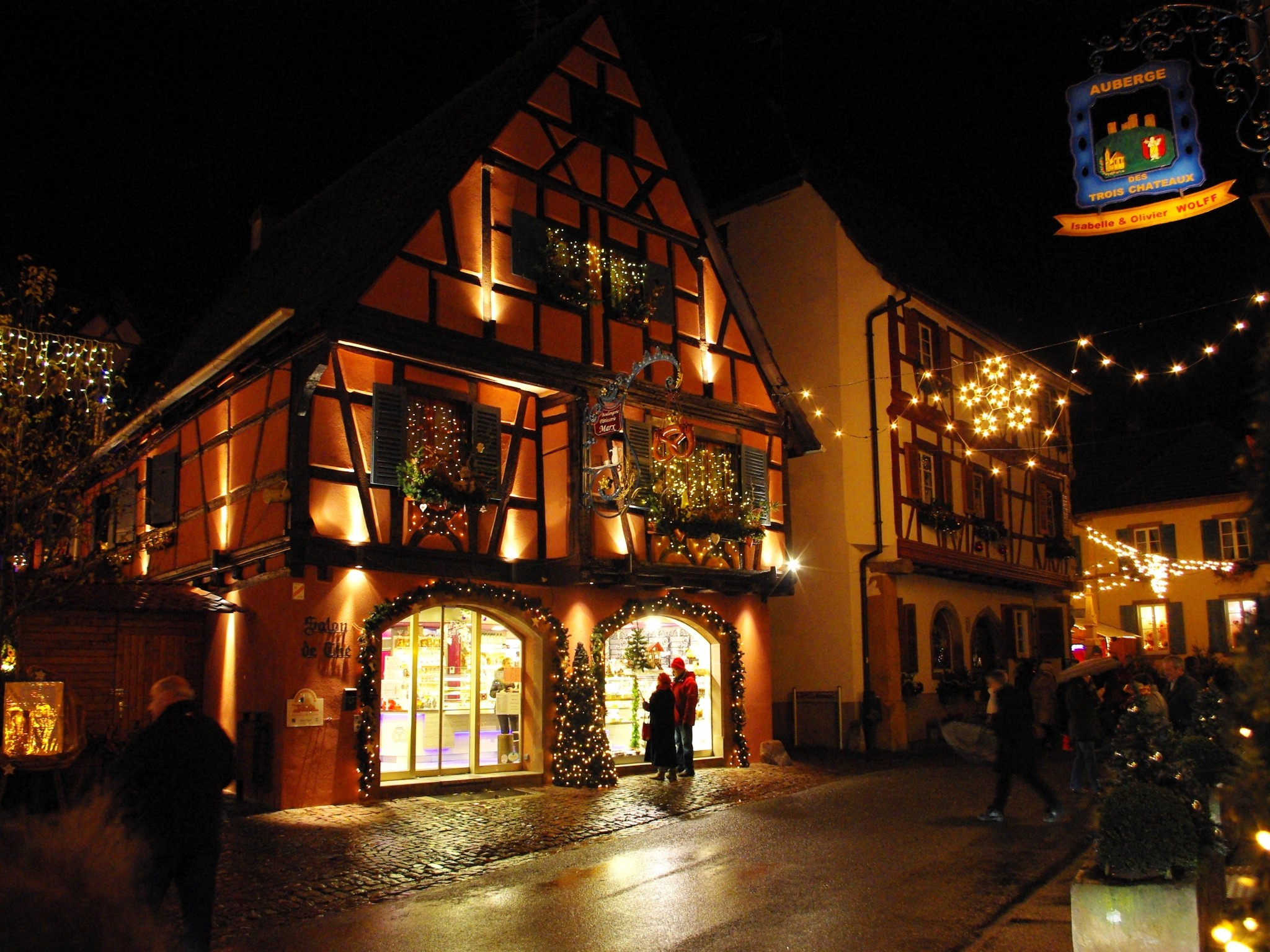 Streets of Eguisheim © French Moments