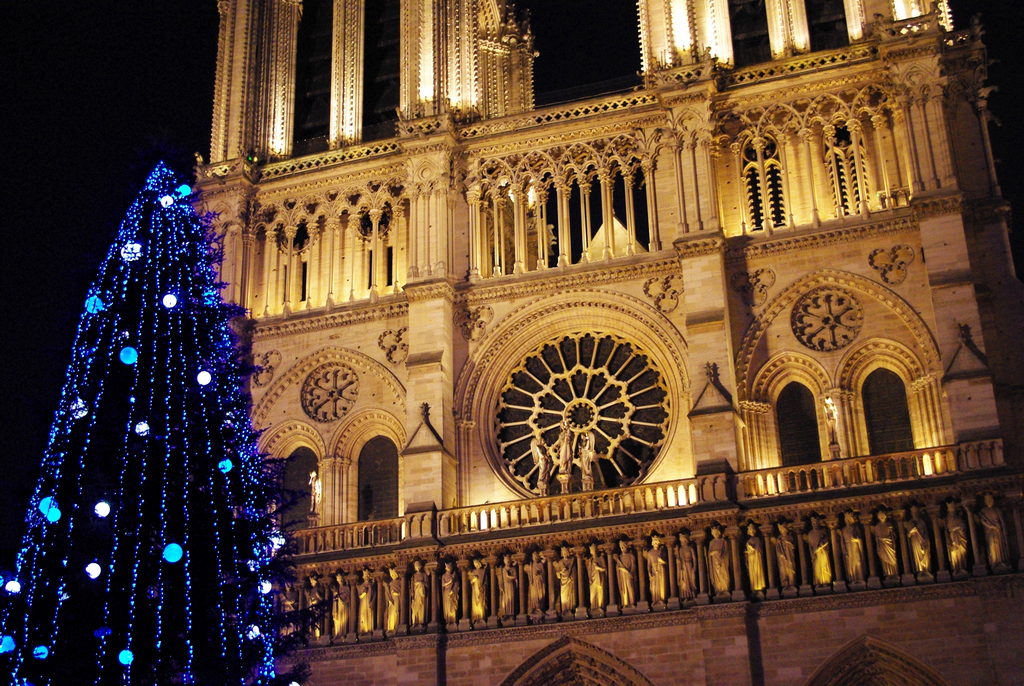 Notre-Dame Christmas 08 © French Moments