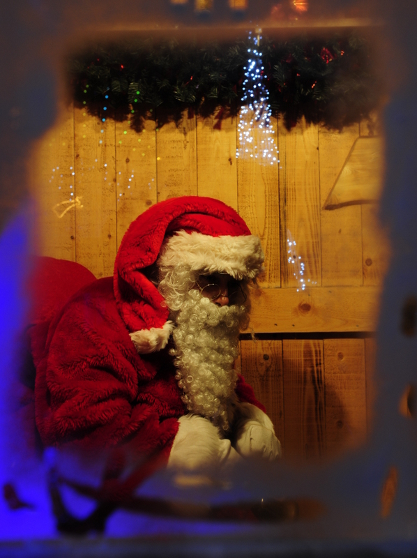 Père Noël in Grenoble  © JM Francillon - Ville de Grenoble