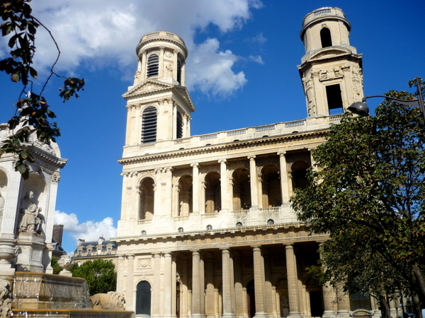 Saint-Sulpice church © French Moments