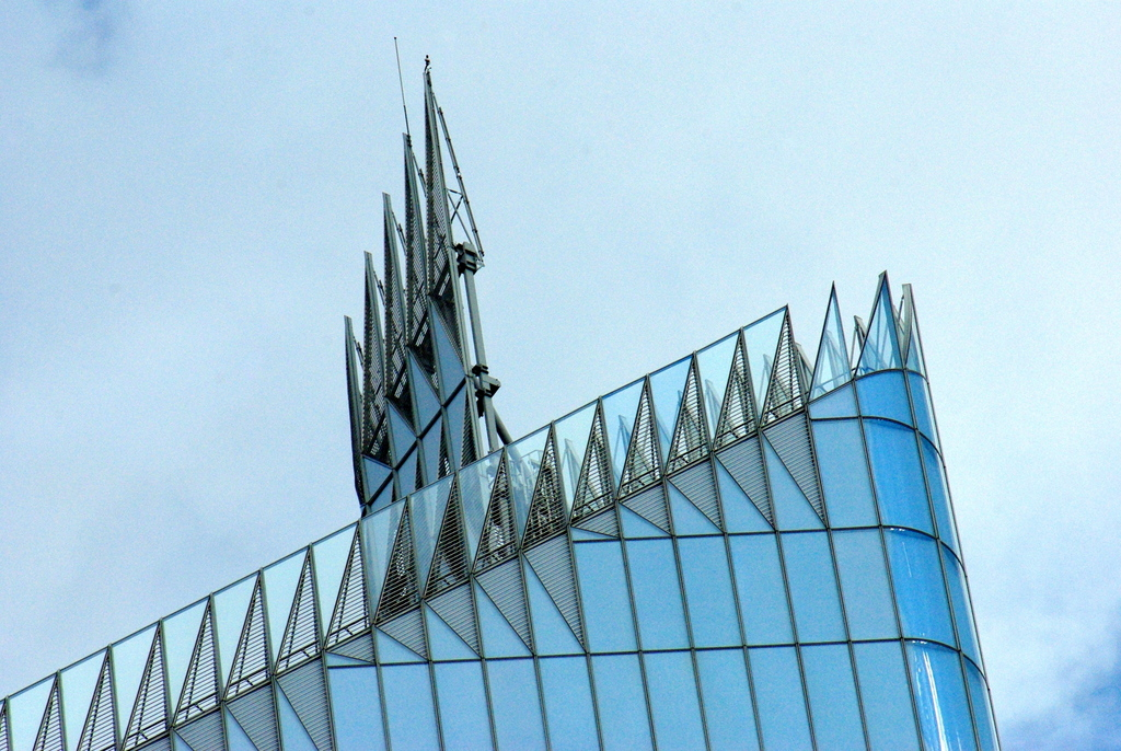 The top of the First Tower in La Défense © French Moments