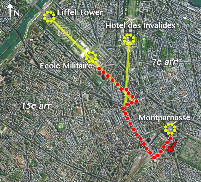Montparnasse-to-Ecole-Militaire-Map-by-French-Moments