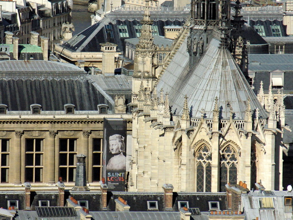 View of Sainte-Chapelle Paris © French Moments
