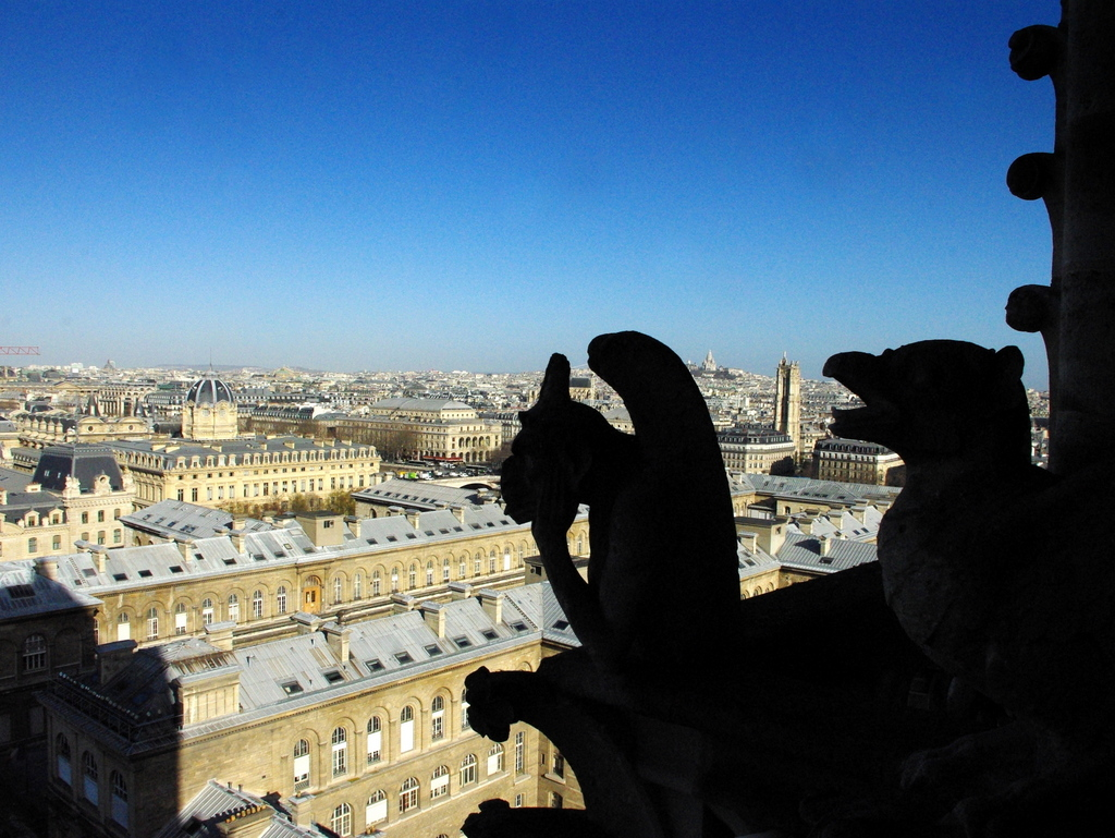 Stryge the chimera, Notre-Dame © French Moments