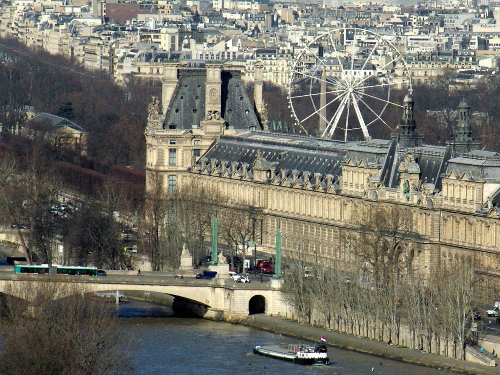 View of the Louvre and Tuileries, Paris © French Moments
