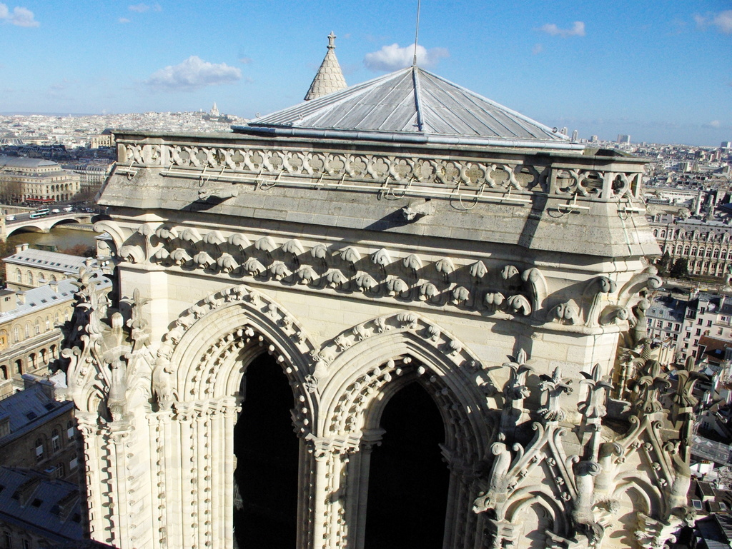 The North Tower of Notre-Dame © French Moments