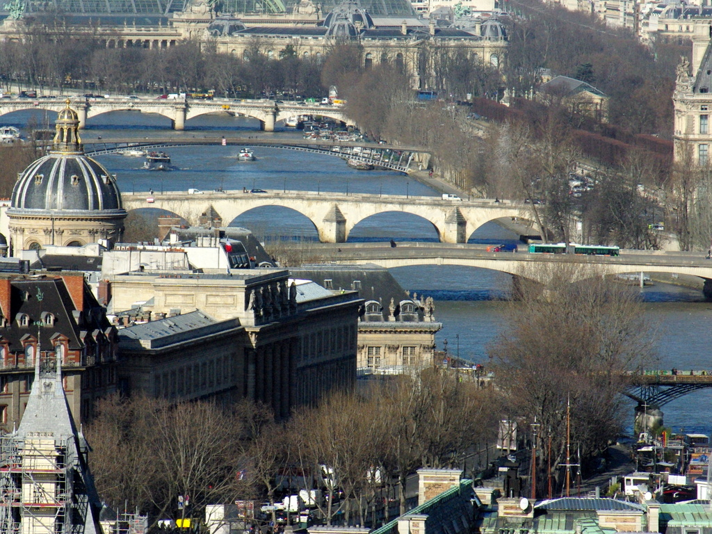 View of the Seine, Paris © French Moments