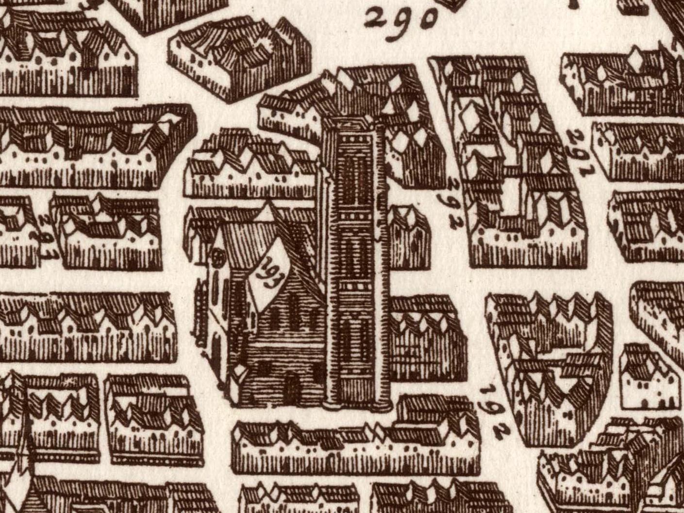 Church of Saint-Jacques-de-la-Boucherie in 1618