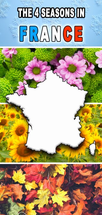 Seasons of the year in France