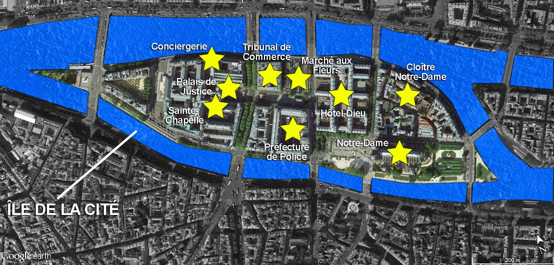 Ile de la Cité Monuments