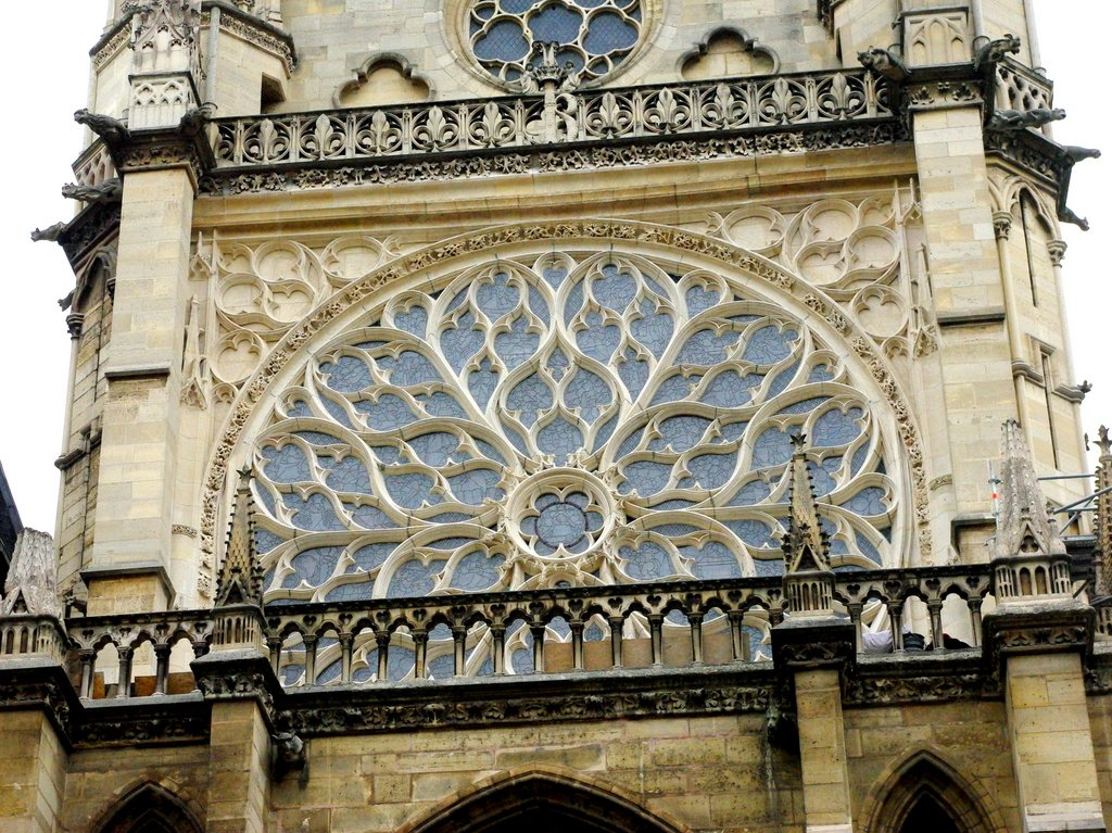 Rose Window of Sainte-Chapelle © French Moments