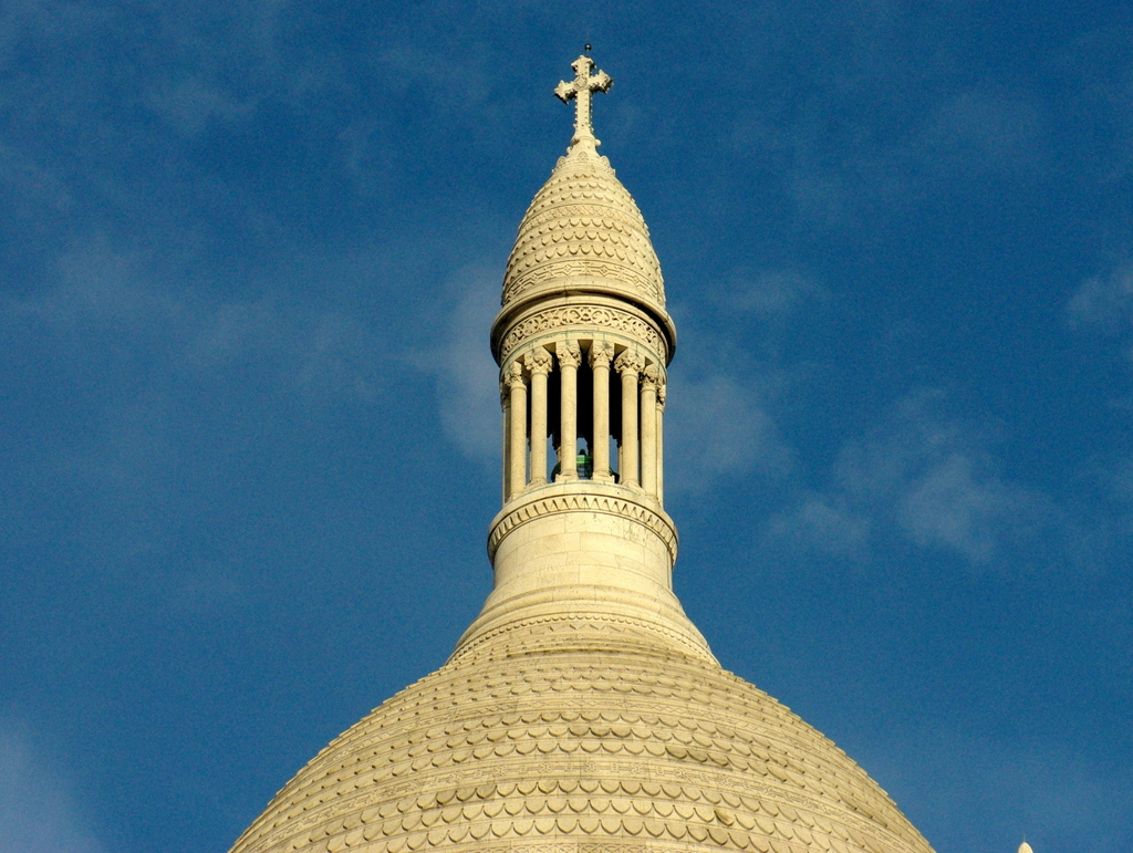 Cross of Dome Sacré-Coeur © French Moments