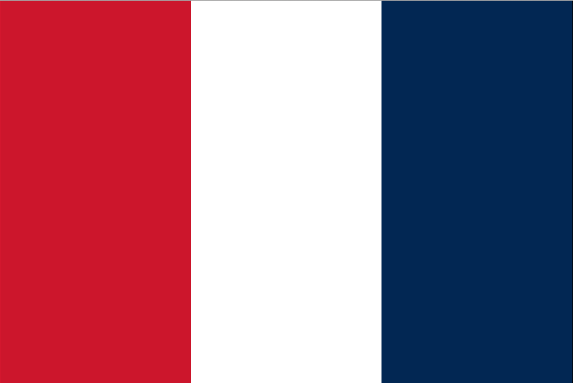 The national flag of France between 1790 and 1794