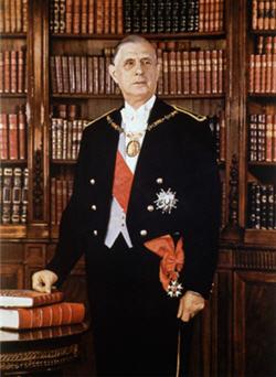 Charles de Gaulle © La Documentation française. Photo Jean-Marie Marcele