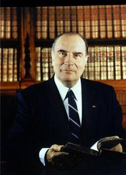 François Mitterrand © La Documentation française. Photo Gisèle Freund.