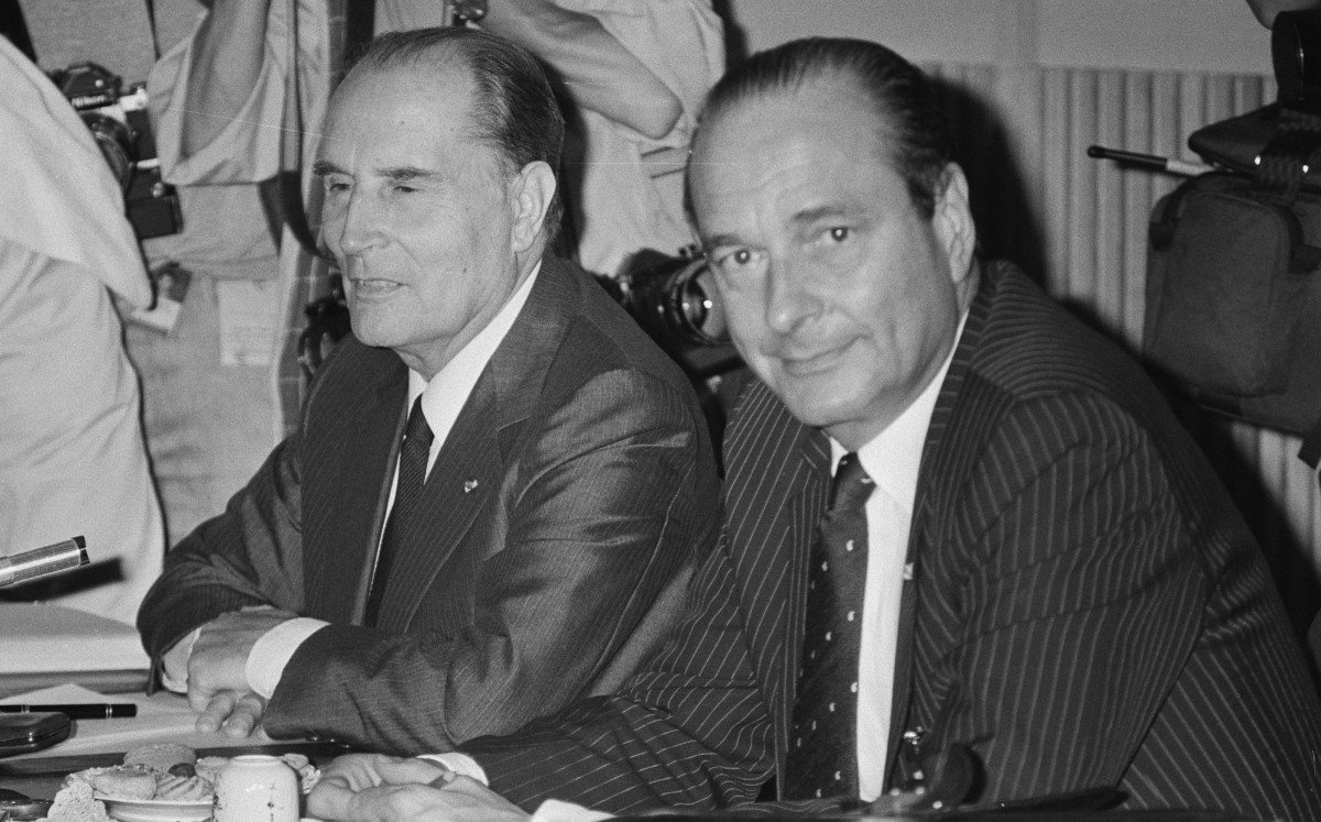 Mitterrand and Chirac © Bart Molendijk : Anefo - licence [CC0] from Wikimedia Commons
