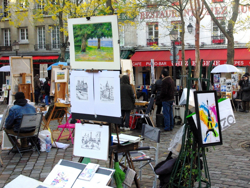 Place du Tertre 02 © French Moments