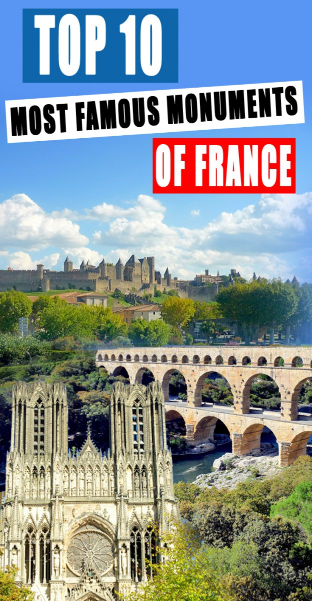 Top 10 Monuments of France © French Moments