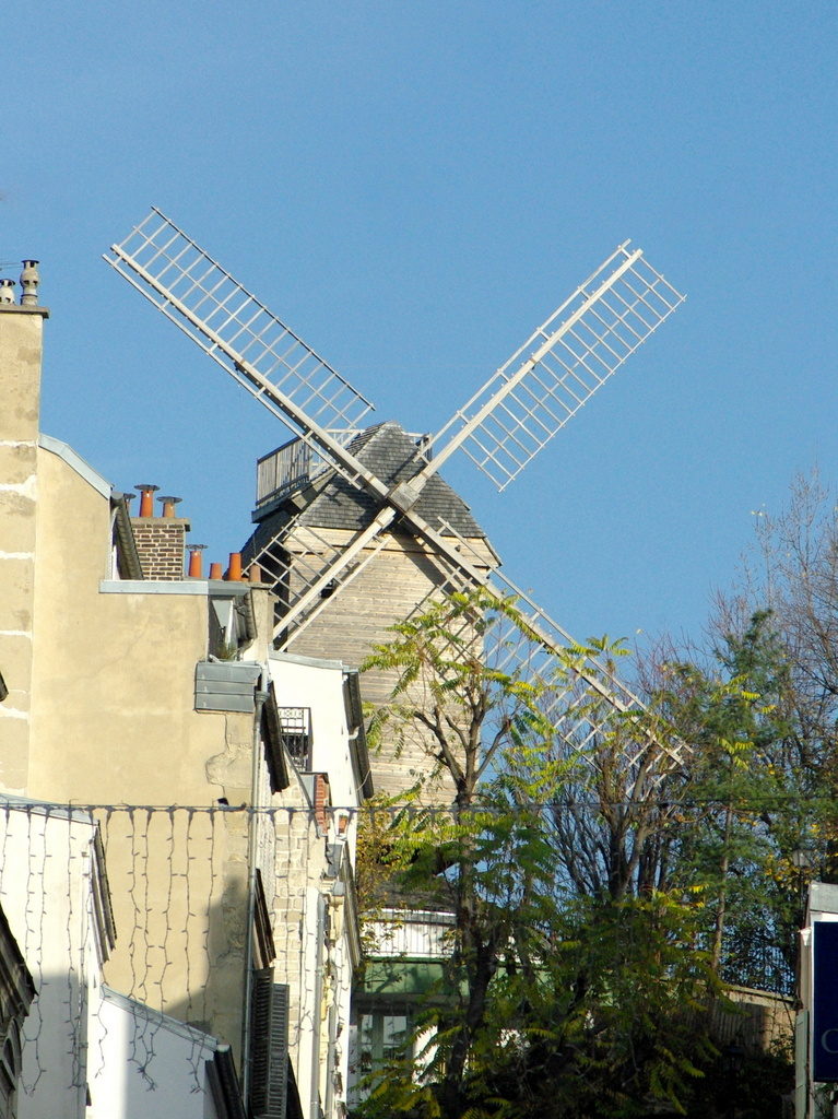 Windmills of Montmartre: Moulin Blute-Fin © French Moments