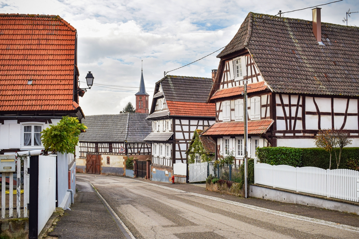 Hunspach in Alsace © French Moments