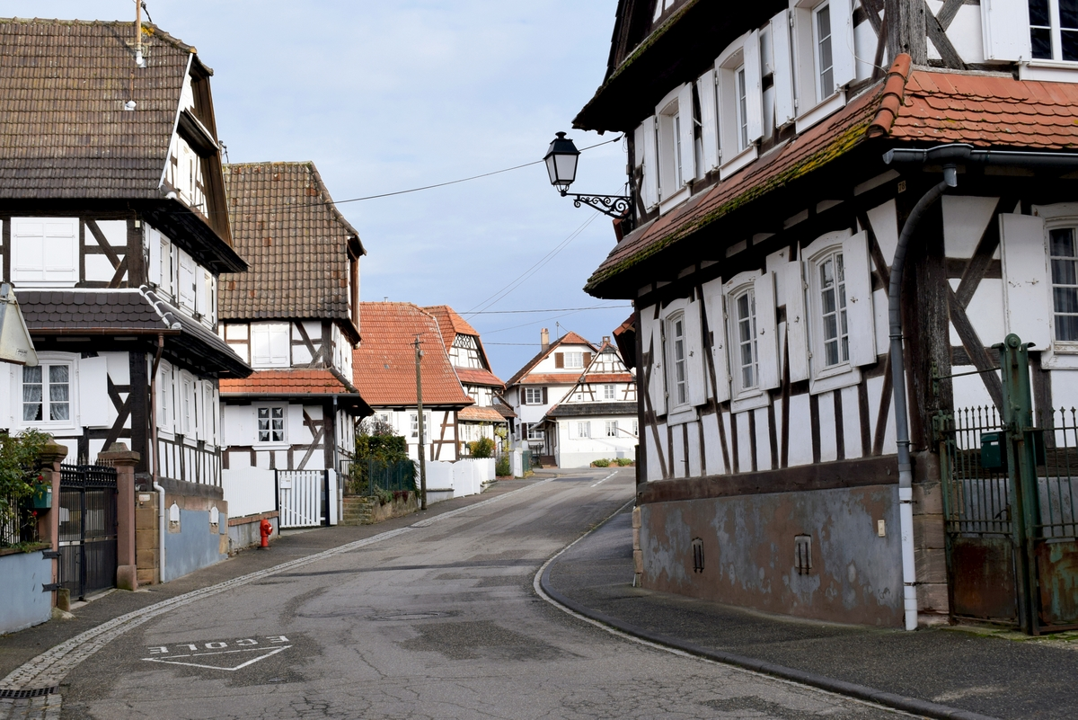 Hunspach, the 2020 Favourite Village of the French © French Moments