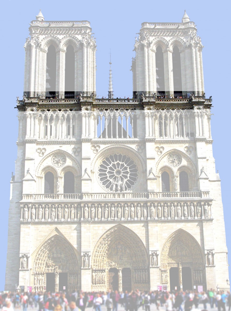 The chimères, West Façade of Notre-Dame © French Moments