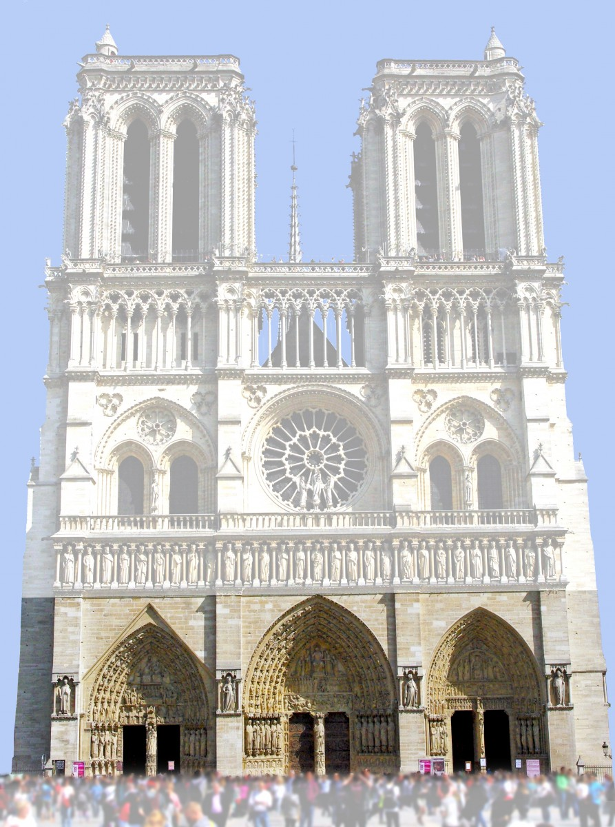 The portals, West Façade of Notre-Dame © French Moments