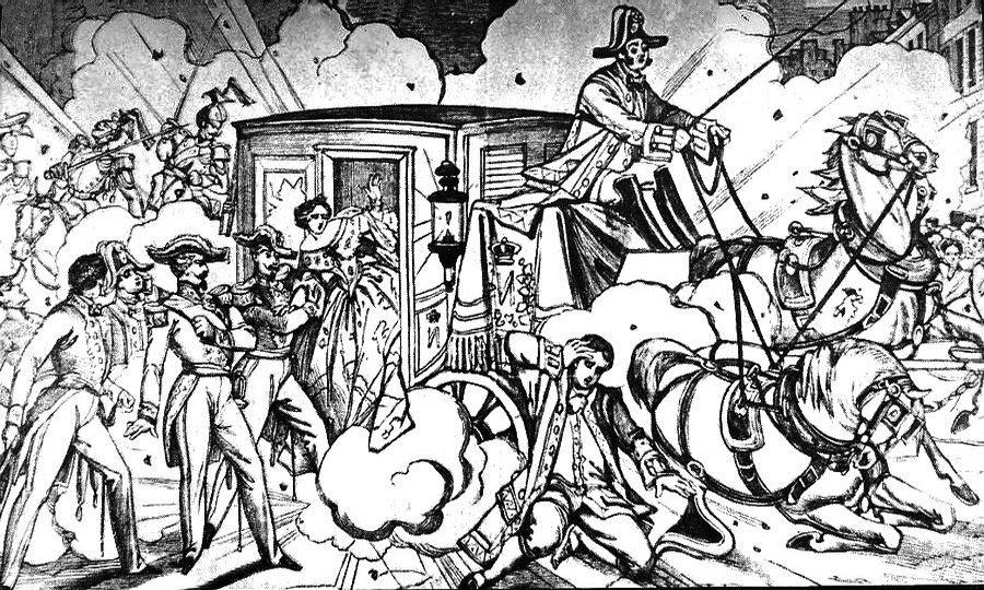 Assassination Attempt of Napoleon III by Orsini