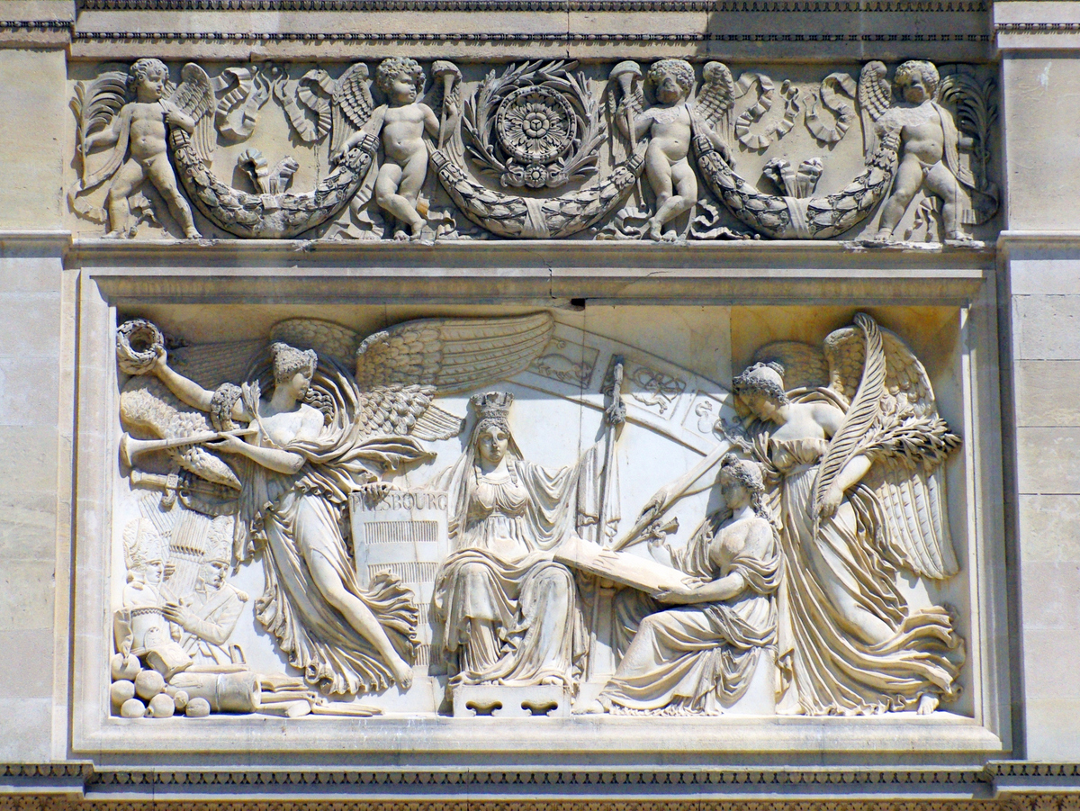 Bas-Reliefs on the Arc du Carrousel © French Moments