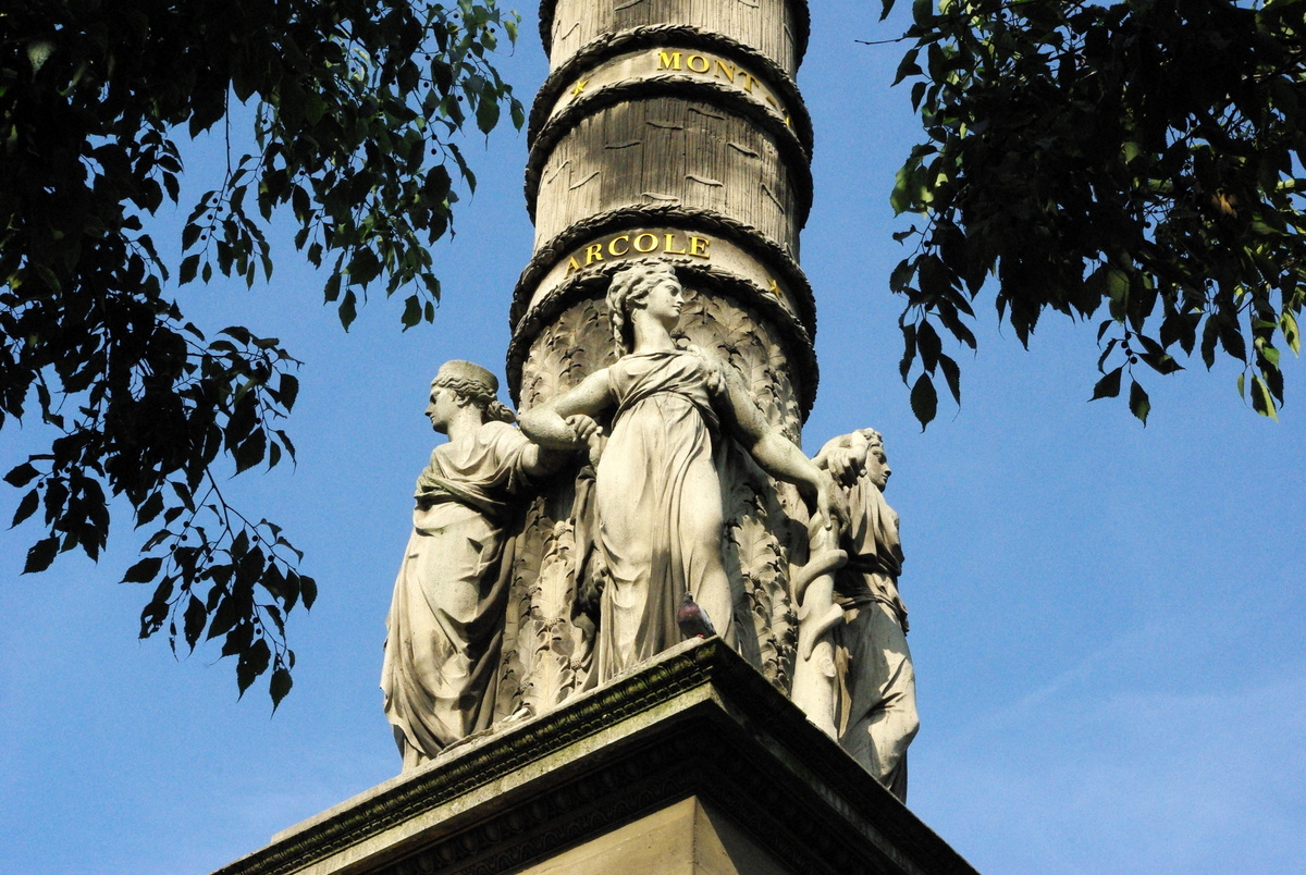 Fontaine du Palmier Chatelet 2 © French Moments