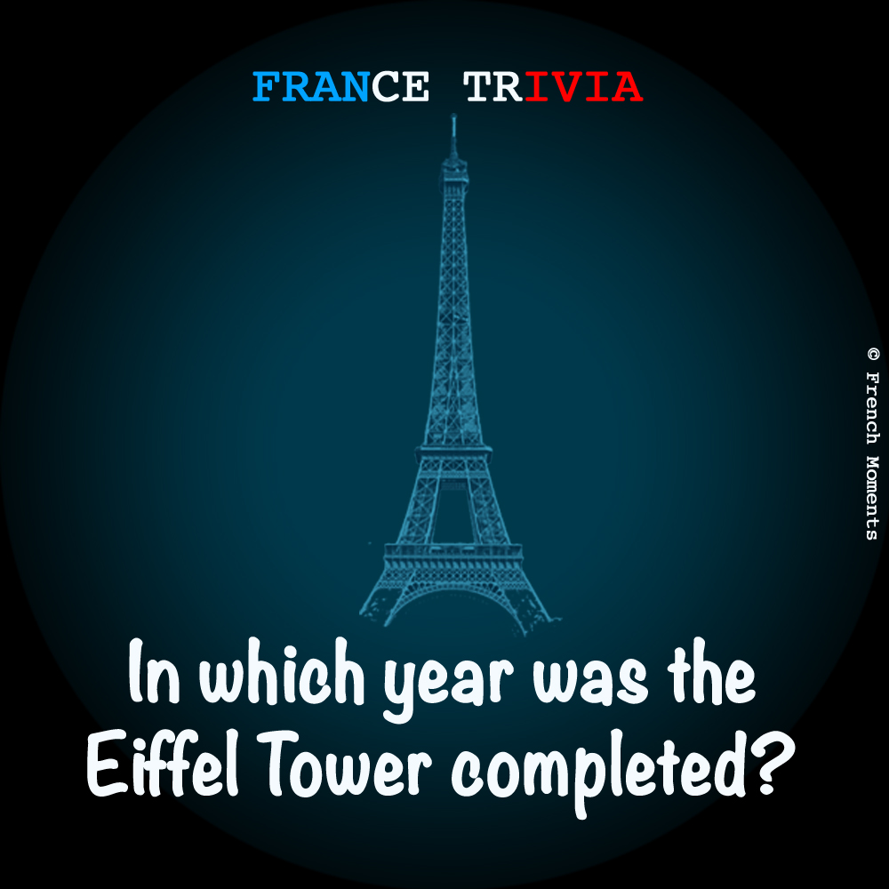 France Trivia Eiffel Tower © French Moments