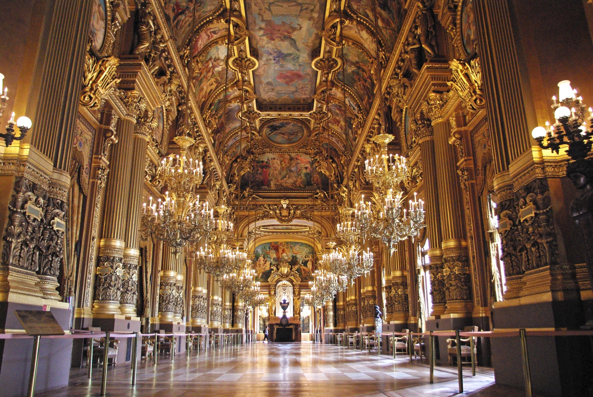 Grand Foyer Du Palais Garnier : Palais garnier paris french moments