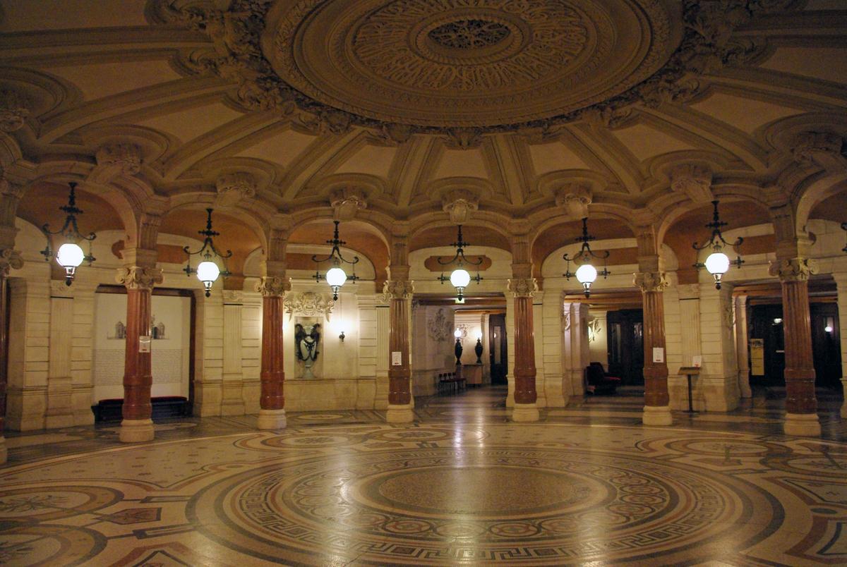 Rotonde des Abonnés, Palais Garnier © French Moments