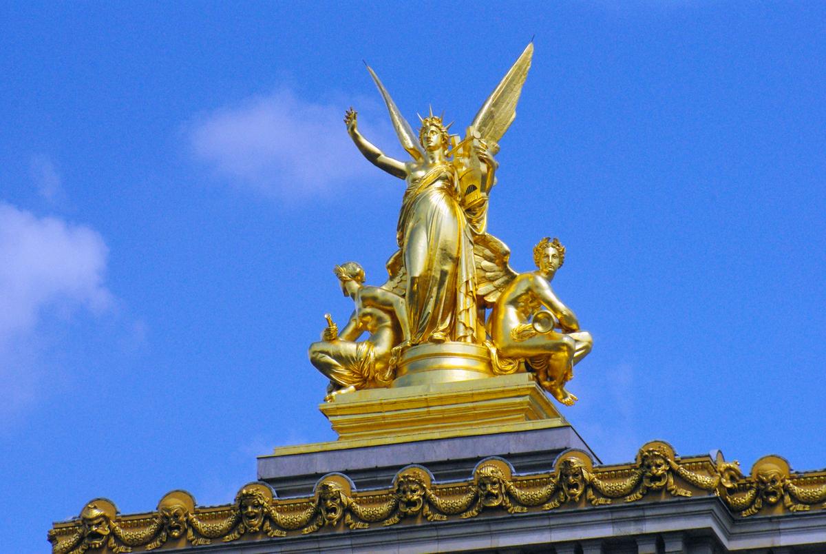 Harmony, Façade of Palais Garnier © French Moments