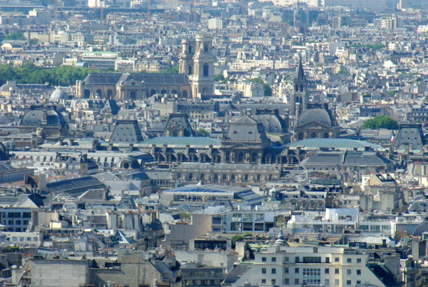 Paris View from Montmartre 80 copyright French Moments