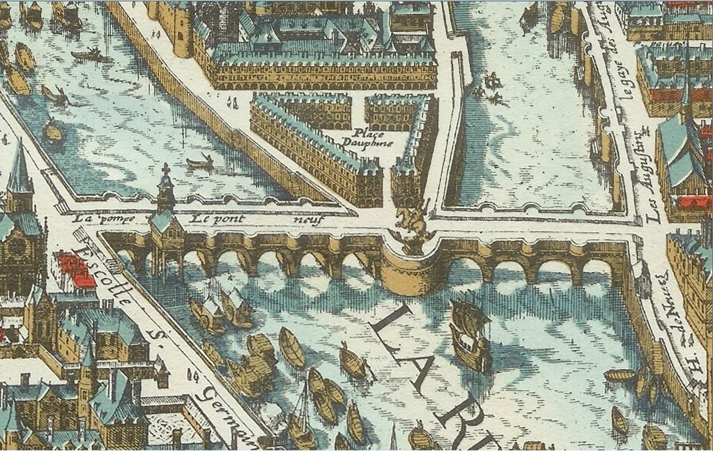 Pont-Neuf in 1615